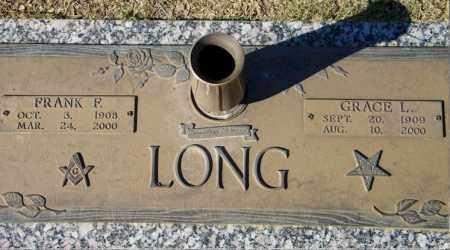 LONG, FRANK FREDERICK - Baxter County, Arkansas | FRANK FREDERICK LONG - Arkansas Gravestone Photos