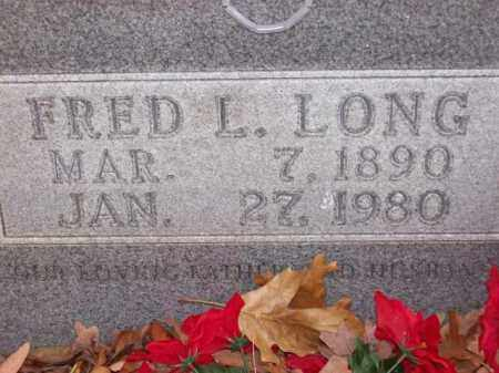 LONG, FRED L - Baxter County, Arkansas | FRED L LONG - Arkansas Gravestone Photos
