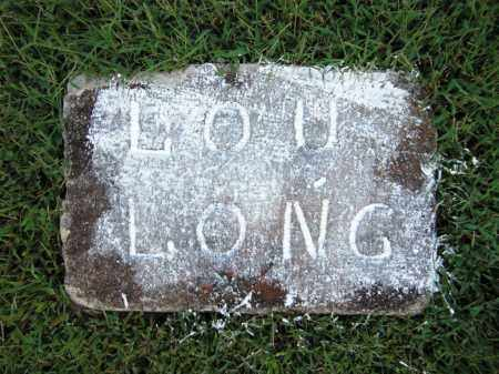 LONG, LOU - Baxter County, Arkansas | LOU LONG - Arkansas Gravestone Photos