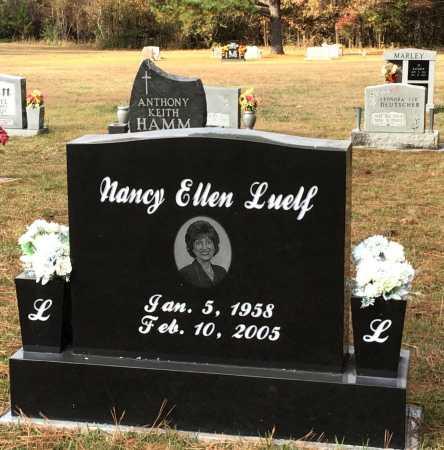 LUELF, NANCY ELLEN - Baxter County, Arkansas   NANCY ELLEN LUELF - Arkansas Gravestone Photos
