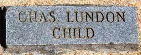 LUNDON, CHARLES - Baxter County, Arkansas | CHARLES LUNDON - Arkansas Gravestone Photos