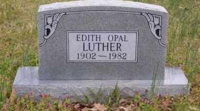 LUTHER, EDITH OPAL - Baxter County, Arkansas | EDITH OPAL LUTHER - Arkansas Gravestone Photos