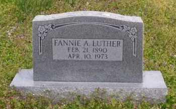 LUTHER, FANNIE ADELLE - Baxter County, Arkansas | FANNIE ADELLE LUTHER - Arkansas Gravestone Photos