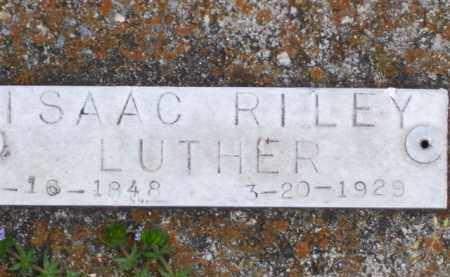LUTHER, ISAAC RILEY - Baxter County, Arkansas | ISAAC RILEY LUTHER - Arkansas Gravestone Photos