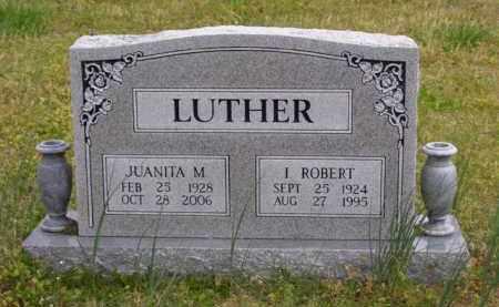 HALL LUTHER, JUANITA M. - Baxter County, Arkansas | JUANITA M. HALL LUTHER - Arkansas Gravestone Photos