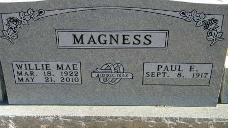 MAGNESS, WILLIE MAE - Baxter County, Arkansas | WILLIE MAE MAGNESS - Arkansas Gravestone Photos