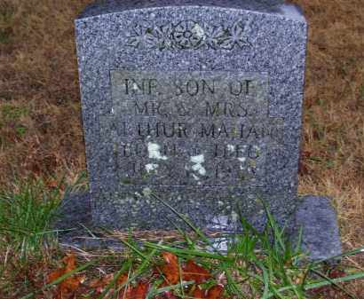 MAHAN, INFANT SON - Baxter County, Arkansas | INFANT SON MAHAN - Arkansas Gravestone Photos