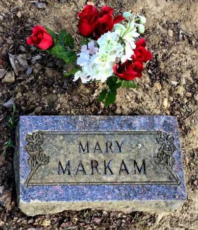 MARKAM, MARY - Baxter County, Arkansas | MARY MARKAM - Arkansas Gravestone Photos
