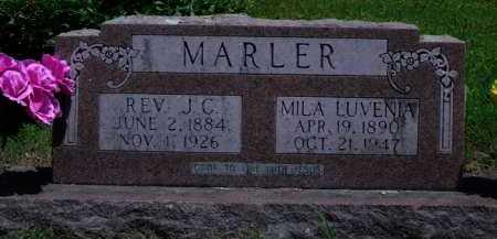 MARLER, MILA LUVENIA - Baxter County, Arkansas   MILA LUVENIA MARLER - Arkansas Gravestone Photos