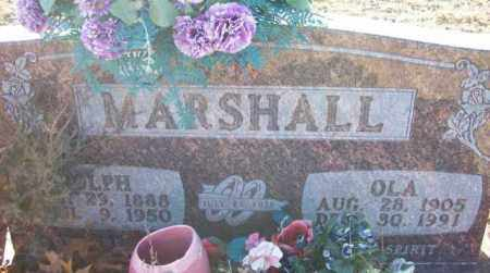 MARSHALL, OLA - Baxter County, Arkansas   OLA MARSHALL - Arkansas Gravestone Photos