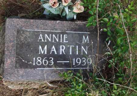 MARTIN, ANNIE M - Baxter County, Arkansas   ANNIE M MARTIN - Arkansas Gravestone Photos