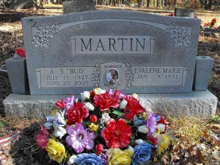 "MARTIN, A. B. ""BUD"" - Baxter County, Arkansas | A. B. ""BUD"" MARTIN - Arkansas Gravestone Photos"