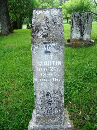MARTIN, GEORGE THOMPSON - Baxter County, Arkansas | GEORGE THOMPSON MARTIN - Arkansas Gravestone Photos