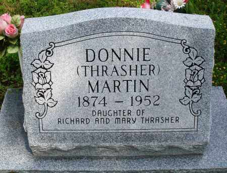 THRASHER MARTIN, DONNIE - Baxter County, Arkansas | DONNIE THRASHER MARTIN - Arkansas Gravestone Photos