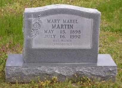 BROWN MARTIN, MARY MABEL - Baxter County, Arkansas | MARY MABEL BROWN MARTIN - Arkansas Gravestone Photos
