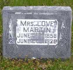 MARTIN, LOVE - Baxter County, Arkansas | LOVE MARTIN - Arkansas Gravestone Photos