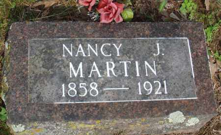MARTIN, NANCY J - Baxter County, Arkansas   NANCY J MARTIN - Arkansas Gravestone Photos