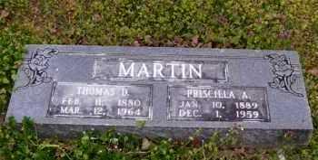 MARTIN, PRISCILLA A. - Baxter County, Arkansas | PRISCILLA A. MARTIN - Arkansas Gravestone Photos