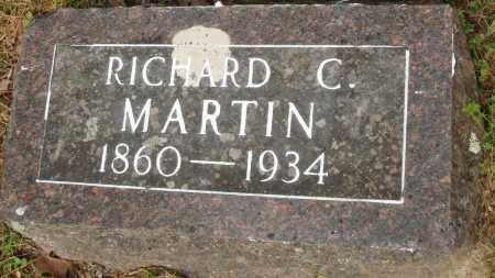 MARTIN, RICHARD C - Baxter County, Arkansas   RICHARD C MARTIN - Arkansas Gravestone Photos