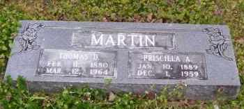 MARTIN, THOMAS D. - Baxter County, Arkansas | THOMAS D. MARTIN - Arkansas Gravestone Photos