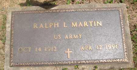 MARTIN (VETERAN), RALPH L - Baxter County, Arkansas   RALPH L MARTIN (VETERAN) - Arkansas Gravestone Photos