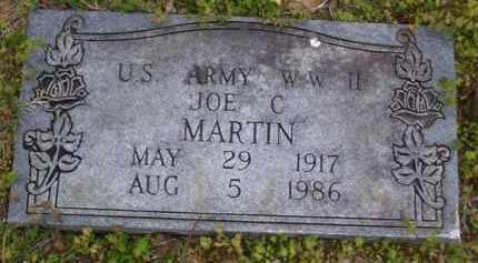 MARTIN (VETERAN WWII), JOE C - Baxter County, Arkansas   JOE C MARTIN (VETERAN WWII) - Arkansas Gravestone Photos