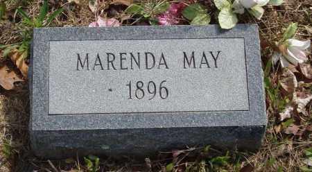 MAY, MARENDA - Baxter County, Arkansas   MARENDA MAY - Arkansas Gravestone Photos