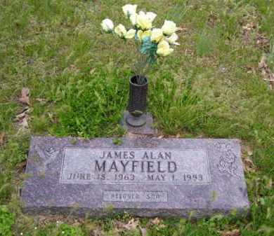 MAYFIELD, JAMES ALAN - Baxter County, Arkansas   JAMES ALAN MAYFIELD - Arkansas Gravestone Photos