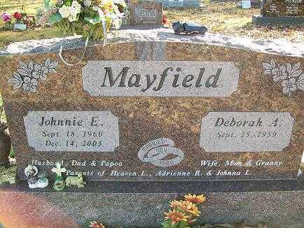 MAYFIELD (VETERAN), JOHNNIE ETHAN - Baxter County, Arkansas | JOHNNIE ETHAN MAYFIELD (VETERAN) - Arkansas Gravestone Photos
