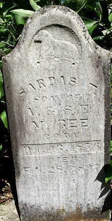 MCBEE, SARDIS TILLMAN - Baxter County, Arkansas | SARDIS TILLMAN MCBEE - Arkansas Gravestone Photos