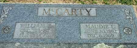 MCCARTY, MAUDIE L - Baxter County, Arkansas | MAUDIE L MCCARTY - Arkansas Gravestone Photos