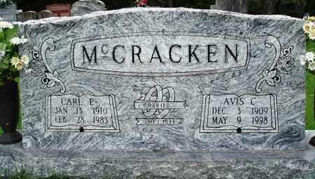 MCCRACKEN, CARL E - Baxter County, Arkansas | CARL E MCCRACKEN - Arkansas Gravestone Photos
