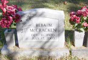 HODGES MCCRACKEN, REBA MARIE - Baxter County, Arkansas | REBA MARIE HODGES MCCRACKEN - Arkansas Gravestone Photos