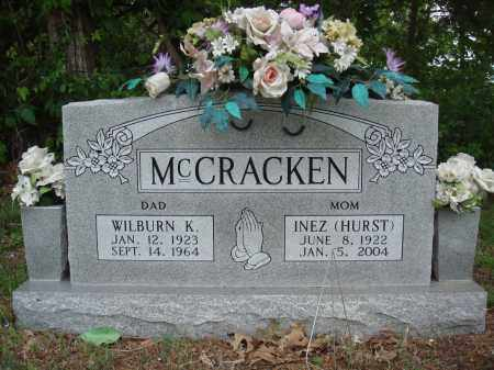 MCCRACKEN, WILBURN K - Baxter County, Arkansas | WILBURN K MCCRACKEN - Arkansas Gravestone Photos
