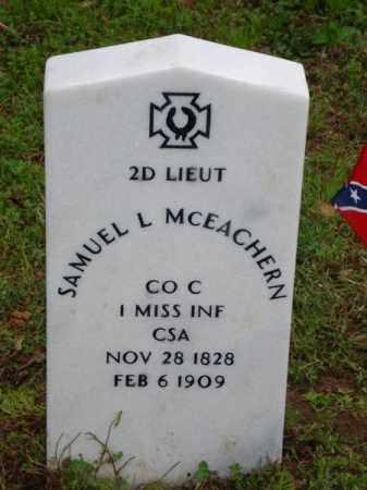 MCEACHERN (VETERAN CSA), SAMUEL L - Baxter County, Arkansas | SAMUEL L MCEACHERN (VETERAN CSA) - Arkansas Gravestone Photos