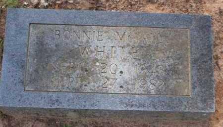 MCFALL WHITE, BONNIE MARIE - Baxter County, Arkansas | BONNIE MARIE MCFALL WHITE - Arkansas Gravestone Photos