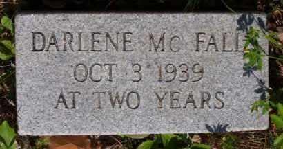 MCFALL, FRANCES DARLENE - Baxter County, Arkansas | FRANCES DARLENE MCFALL - Arkansas Gravestone Photos