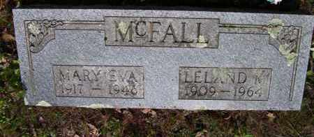 "WHITE MCFALL, MARY EVA ""EVIE"" - Baxter County, Arkansas 