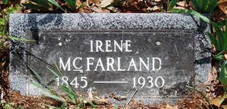 MCFARLAND, IRENE - Baxter County, Arkansas   IRENE MCFARLAND - Arkansas Gravestone Photos