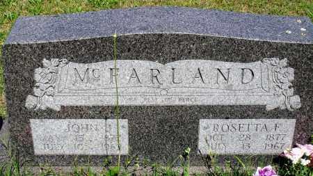MCFALAND, ROSETTA F - Baxter County, Arkansas   ROSETTA F MCFALAND - Arkansas Gravestone Photos