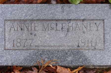 SANDERS MCLEHANEY, ANNIE - Baxter County, Arkansas | ANNIE SANDERS MCLEHANEY - Arkansas Gravestone Photos