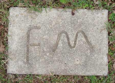 MCMAHON, F - Baxter County, Arkansas | F MCMAHON - Arkansas Gravestone Photos