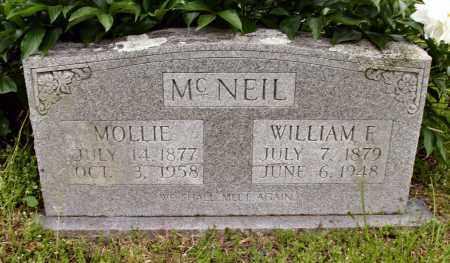 MCNEIL, WILLIAM E. - Baxter County, Arkansas   WILLIAM E. MCNEIL - Arkansas Gravestone Photos
