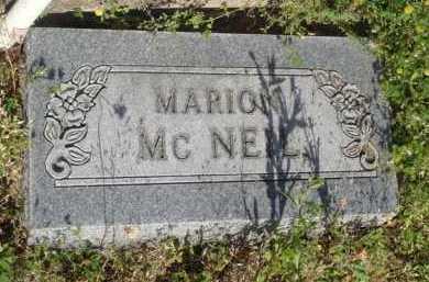 MC NEIL, MARION - Baxter County, Arkansas | MARION MC NEIL - Arkansas Gravestone Photos