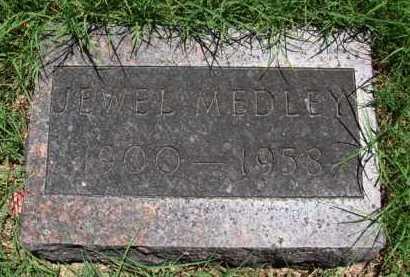 MEDLEY, JEWEL - Baxter County, Arkansas | JEWEL MEDLEY - Arkansas Gravestone Photos