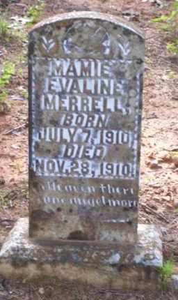 MERRELL, MAMIE EVALINE - Baxter County, Arkansas | MAMIE EVALINE MERRELL - Arkansas Gravestone Photos