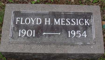 MESSICK, FLOYD H - Baxter County, Arkansas | FLOYD H MESSICK - Arkansas Gravestone Photos