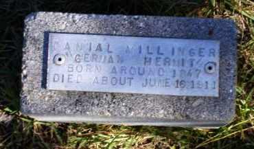 MILLINGER, DANIAL - Baxter County, Arkansas | DANIAL MILLINGER - Arkansas Gravestone Photos