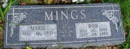 MINGS, BOB - Baxter County, Arkansas | BOB MINGS - Arkansas Gravestone Photos
