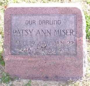 MISER, PATSY ANN - Baxter County, Arkansas | PATSY ANN MISER - Arkansas Gravestone Photos